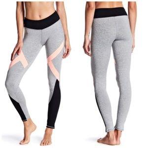 DSGN Yoga Colorblock Leggings • Light Gray • SZ XL